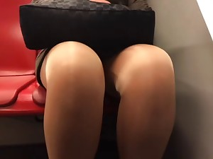 older upskirt legs tights in metro compound product 1