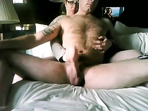 Wife gives me awesome masturbation