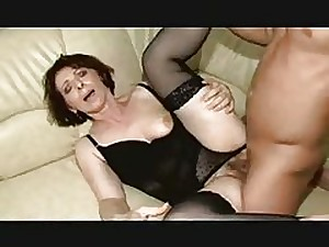 Bushy Older in Darksome Nylons