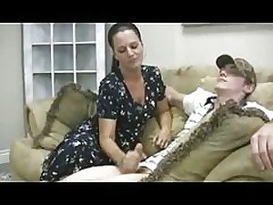 Stacey's Mamma - Veronica Cfnm Jerking off