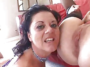 Older Wife Pays for a Wicked Groupsex...F70