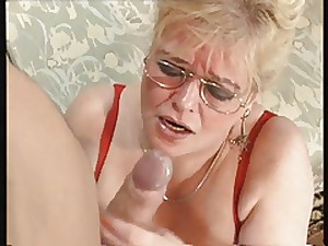 Granny engulf and fuck
